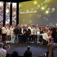 BBDO Named Network of the Year at the Cannes Lions International Festival of Creativity for Record-Setting Seventh Time (PRNewsfoto/BBDO Worldwide)